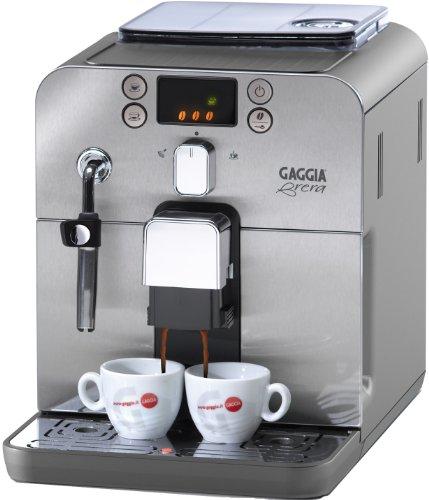 Gaggia RI9833/71 Kaffeevollautomat Brera (Dampfdüse) silber thumbnail