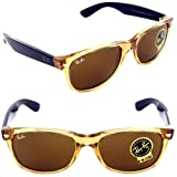 Ray Ban RB2132 New Wayfarer Sunglasses - 945L Honey (B-15XLT Lens) - 55mm