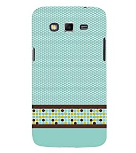 Cellular Pattern 3D Hard Polycarbonate Designer Back Case Cover for Samsung Galaxy Grand Neo Plus :: Samsung Galaxy Grand Neo Plus i9060i