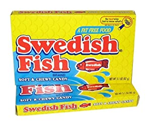 Swedish fish theater box three 3 for Swedish fish amazon