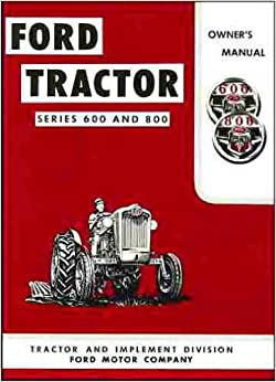 ford tractor series    owners manual tractor