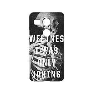 BLUEDIO Designer 3D Printed Back case cover for LG Nexus 5X - G1996