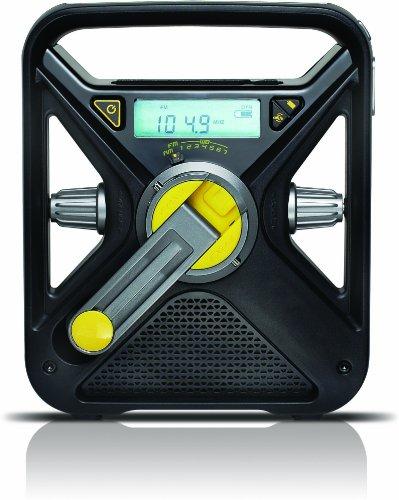 Soulra FRX3 Kurbelradio mit USB-Ladeausgang (UKW/MW-Tuner)