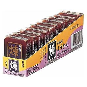 杉本屋製菓 ようかん煉 40g×10個
