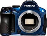 Pentax K-30 Weather-Sealed 16 MP CMOS Digital SLR (Blue, Body Only)