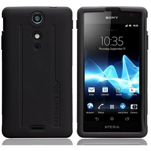 Case-Mate 日本正規品 docomo Xperia GX SO-04D Hybrid Tough Case, Black/Black ハイブリッド タフ ケース, ブラック/ブラック CM021562