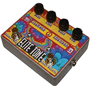 The Fillmore Thunder By Elite Tone - A Jimi Hendrix Fuzz Octave Guitar Effects Pedal