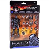 Halo Reach S 5 Action Figure Spartan Armour Pack Green & Black STEEL