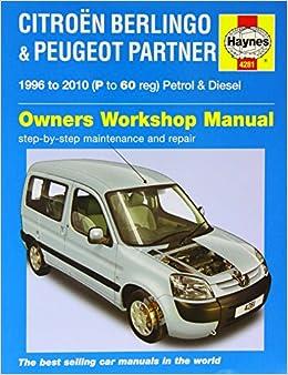 Citroen Berlingo and Peugeot Partner Service and Repair