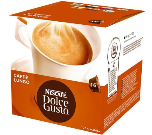 SMALL HOME APPLIANCES - Breakfast - Accessories - 16 Dolce Gusto Caffè Lungo capsules