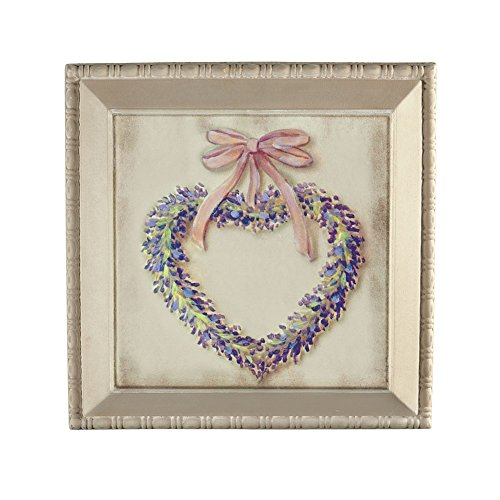 Heart Wreath Canvas Wall Art (Bbq Canvas Art compare prices)