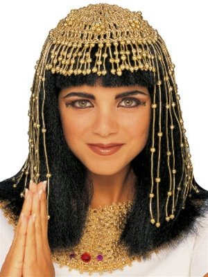 Rubie's Costume Co Cleopatra Headpiece-Mesh Costume