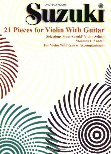 suzuki-21-pieces-for-violin-with-guitar