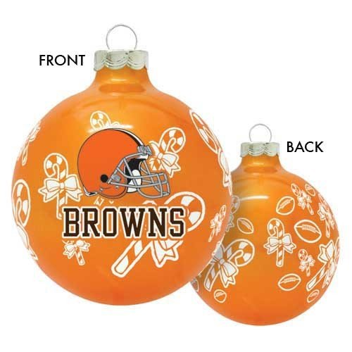NFL Cleveland Browns Traditional 2 5/8″ Ornament