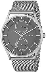 Skagen Men's SKW6172 Holst Analog Quartz Silver Watch
