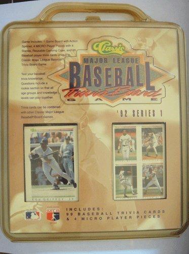 Classic Major League Baseball Trivia Board Game - 1
