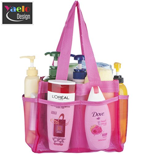 Shower Caddy - Quick Dry Hanging Dorm Shower Caddy - Gym Shower ...