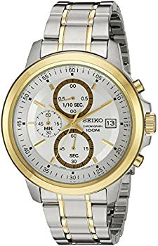 Seiko Mens SKS456 Silver Dial Watch