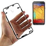 Transparent Clear Hard Back +soft Side Case Cover For Samsung Note 3 Neo - Black Side