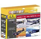Heller - 53002P - Maquette - Chasseurs Deuxième Guerre Mondiale - 4 Modèles...