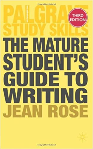 Image: Cover of The Mature Student's Guide to Writing (Palgrave Study Skills)