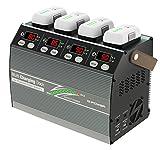 Multi Charging Dock for Phantom3 & 4 DJI Phantom3&Phantom4バッテリー 4本同時急速充電対応充電器 G0241 [日本正規品]