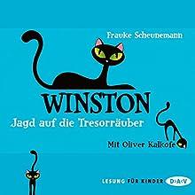 Jagd auf die Tresorräuber (Winston 3) Hörbuch von Frauke Scheunemann Gesprochen von: Oliver Kalkofe