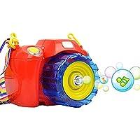 Say Cheese Camera Shape Bubble Gun Suit Children Electric Bubble Gun Light And Sound Bubble