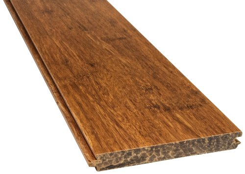 Boedika 9-55830 3-3/4-Inch Wide by 1/2-Inch Thick by 72-3/4-Inch Long Carbonized Paris Line Pre-Finished Bamboo Flooring