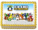 CLUB PENGUIN Edible Image Frosting Sheet Cake Topper