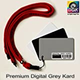 Digital Grey Kard Premium White Balance Card / Gray Card for Digital Photographyby Digital Image Flow