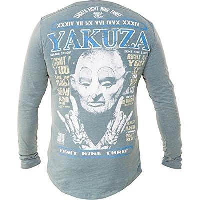 Yakuza Sweatshirt LSB-426 Blau