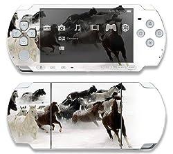 Sony Psp Slim 2000 Decal Skin Horse Power