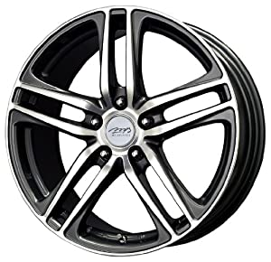 "MB Wheels Interline Gunmetal Wheel with Machined Face (16x6.5""/5x114.3mm)"