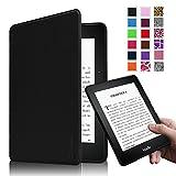 Fintie Kindle Voyage 6 インチ ケース 最も薄く、最軽量の保護 高品質PU レザー カバー マグネット機能搭載 【Kindle Voyage専用】(ブラック) ランキングお取り寄せ