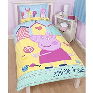 Peppa Pig Twin Bed Sheets