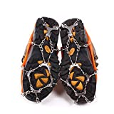 Uelfbaby Micro spikes Footwear Ice Traction System Safe Protect for Walking, Jogging, or Hiking on Snow and Ice