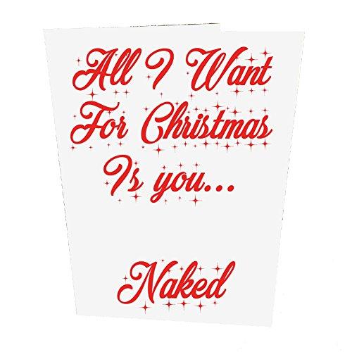 all-i-want-para-christmas-is-you-tarjeta-de-navidad-desnudo
