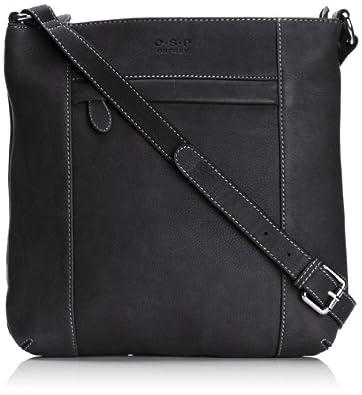 Osprey London Womens Medium Murano Cross-Body Bag 4202-58 Black