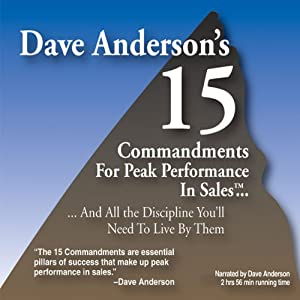 The 15 Commandments for Peak Performance in Sales Audiobook