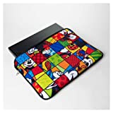 Romero Britto Disney 17 Laptop Sleeve by Enesco- Mickey