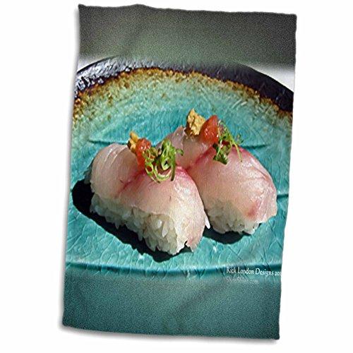 Rick London Fine Art Sushi Gifts - Scrumptious Pieces Of Sushi - 11x17 Towel (twl_25816_1)