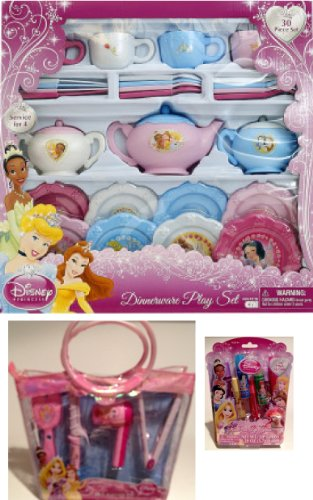 Disney Princess Deluxe Tea Party & Glamour Set