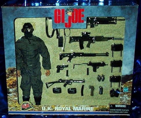 Buy Low Price Hasbro G.I. Joe U.K. Royal Marine 12″ Figure and Weapon Set (B000WBNS10)