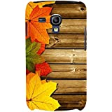 For Samsung Galaxy S3 Mini I8190 :: Samsung I8190 Galaxy S III Mini :: Samsung I8190N Galaxy S III Mini Autumn ( Autumn, Wooden, Original Autumn, Wooden Board, Wood Board ) Printed Designer Back Case Cover By FashionCops