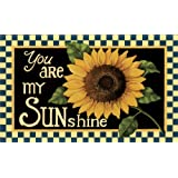 You Are My SUNshine Sunflower Decorative Floor Mat