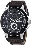 TOM TAILOR Herren-Armbanduhr XL Analog Quarz Leder 5411301