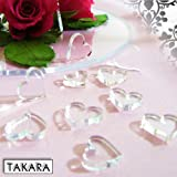 Hearts Table Confetti, Weddings, Chritenings... Craftsby TAKARA