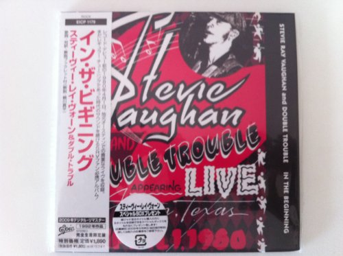 In The Beginning [Live] [Japanese papersleeve CD EICP 1179] by Stevie Ray Vaughan