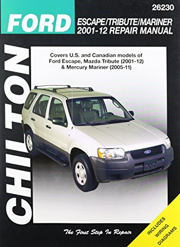 chiltons-ford-escape-tribute-mariner-2001-2012-repair-manual-covers-all-us-and-canadian-models-of-fo